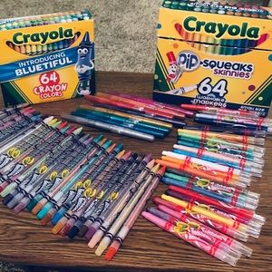 Crayons Art Haul - Lightly Used and NEW!